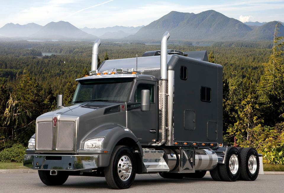 KWT880 sleeper The first in a great line-up of Inland Kenworth Parker Pacific truck photos  CDN 880 ? routier 2014 157279990796268_n