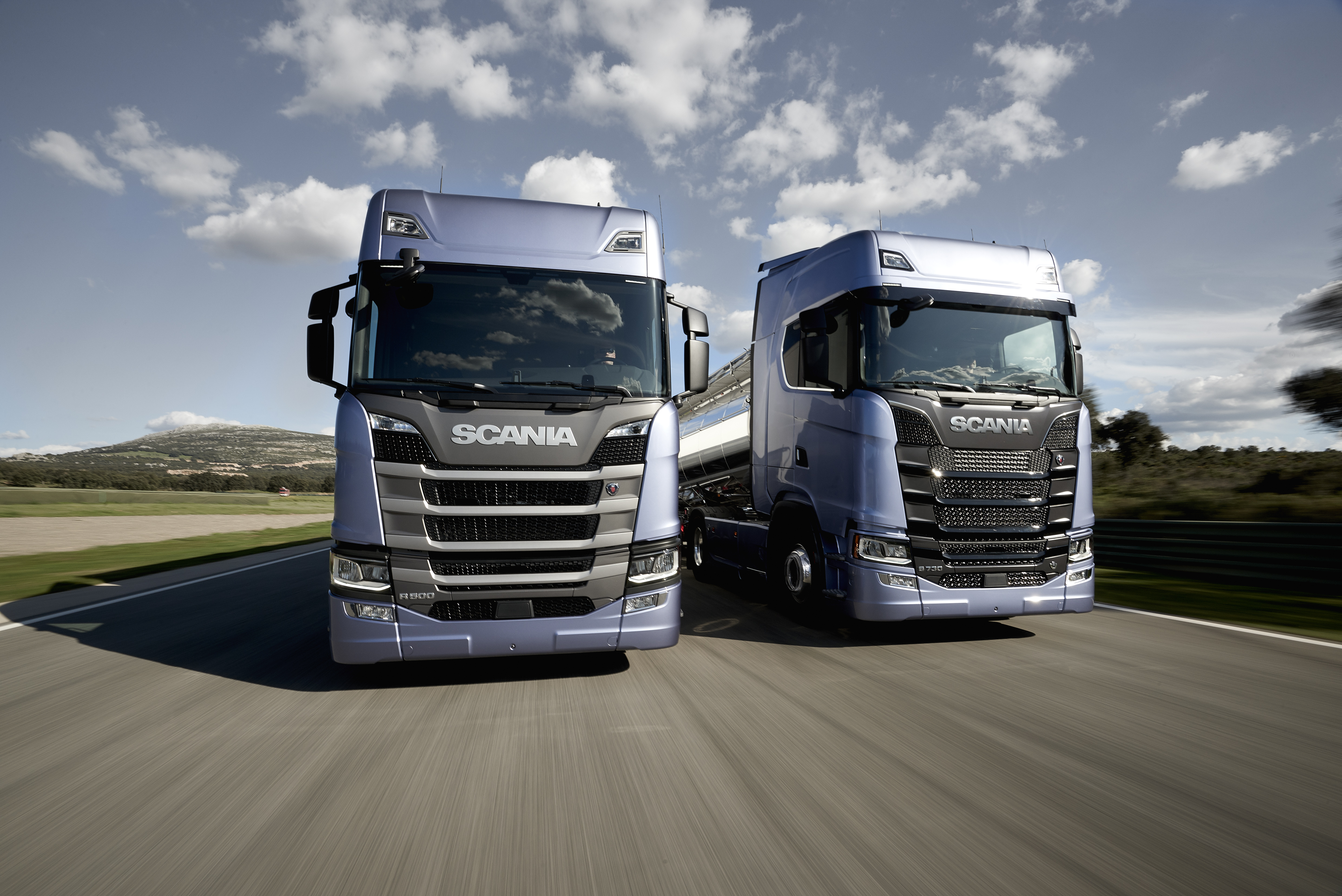 France routes for Interieur camion scania