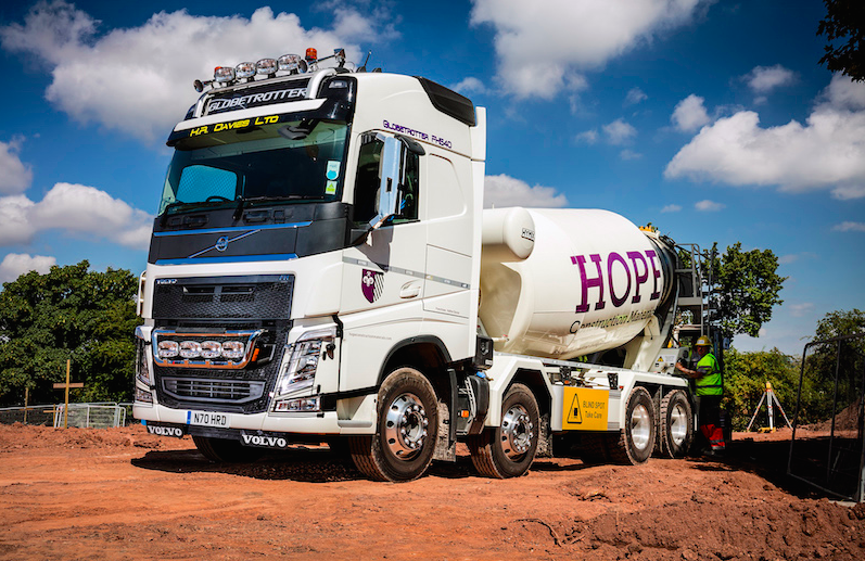 3-First ever new Volvo is a concrete investment for H R Davies