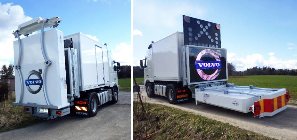 C - Camion-myster - Volvo P+T  2015 AR