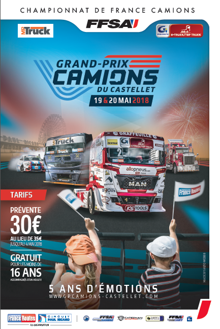 grand prix camions du castellet 19 20 mai 2018 franceroutes. Black Bedroom Furniture Sets. Home Design Ideas